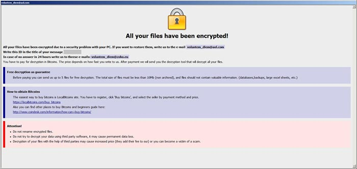 Info.hta file created by Onion ransomware
